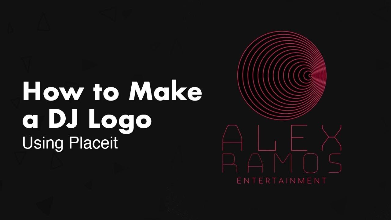 Design Your Own DJ Logo - How to Design Your Own DJ Logo – No Illustrator Needed! - YouTube