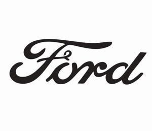 Ford Logo - Details about Ford Logo Vinyl Die Cut Car Decal Sticker - FREE SHIPPING
