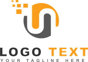 Orange N Logo Logodix