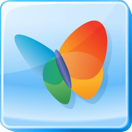 Hotmail Logo - Butterfly, hotmail, live, logo, microsoft, msn, square icon