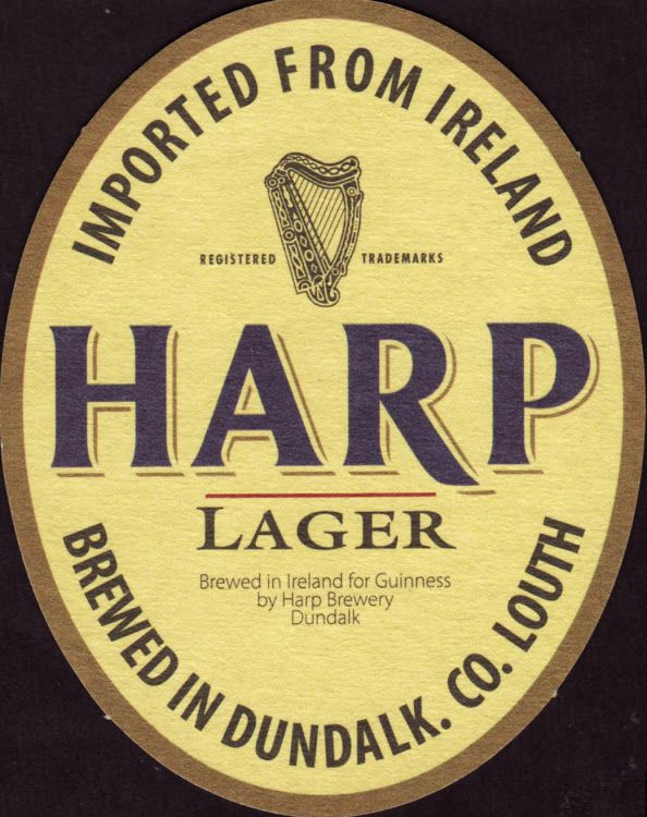 Harp Beer Logo - Harp Lager from St. James Gate (Guinness) - Available near you ...