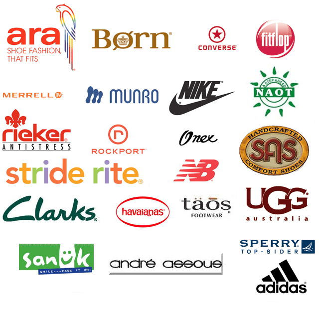 most famous brand of shoes