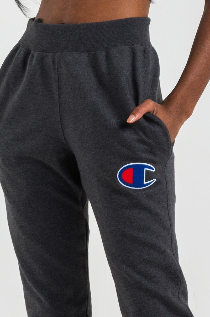 d4c088711 Women Champion Clothing Logo - Champion Women's Jogger in Black, Team  Maroon, Navy and
