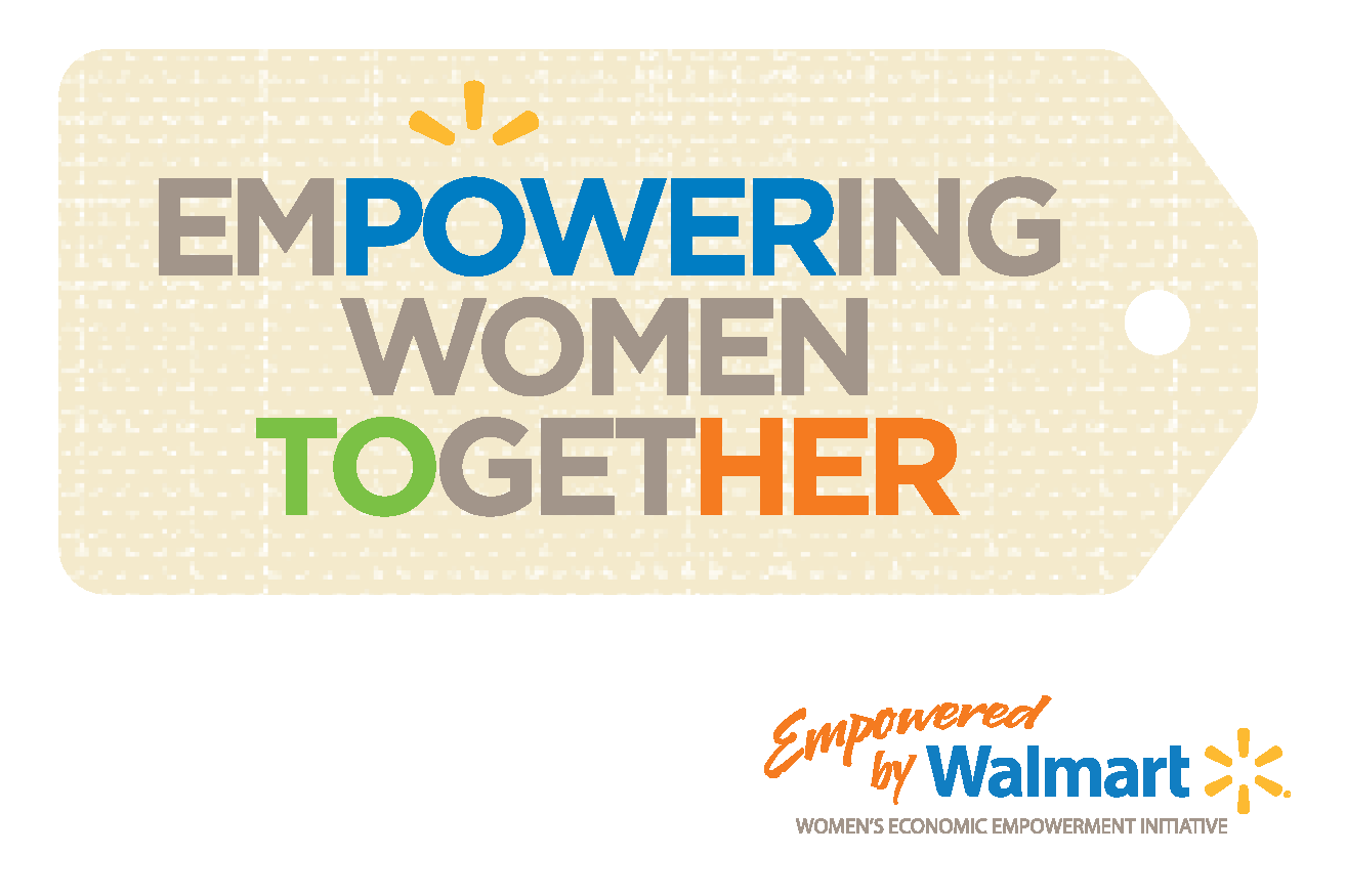 Walmart Logo - Empowering Women Together Program Logo
