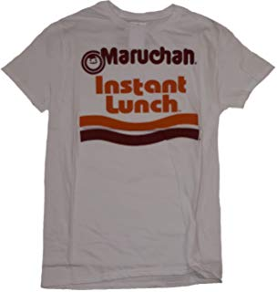 Maruchan Logo - Amazon.com: Mighty Fine Maruchan Instant Lunch Logo Adult T-Shirt ...