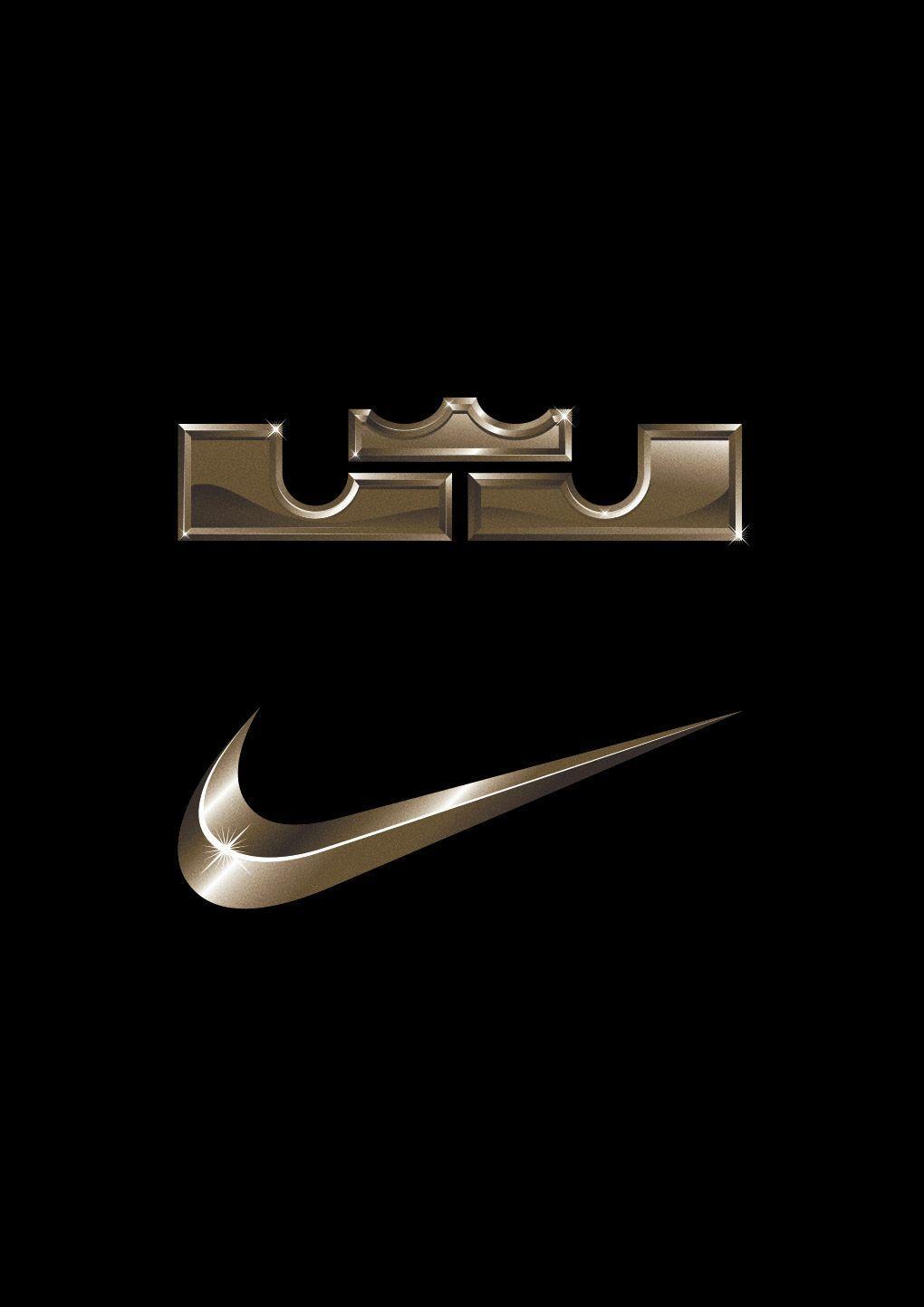 promo code 222c7 38b91 LeBron James Crown Logo - NIKE   LEBRON JAMES TEE — Vicente García Morillo