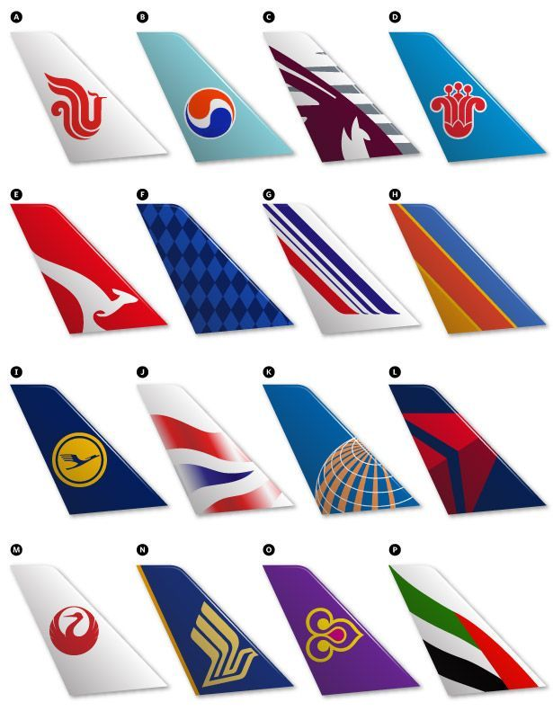 Airplanes Logo - Can You Identify the Airline From Its Logo? | Planes | Airline logo ...