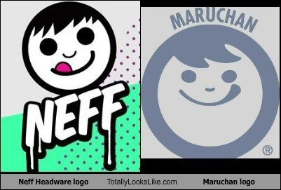 Maruchan Logo - Neff Headware logo Totally Looks Like Maruchan logo - Totally Looks Like