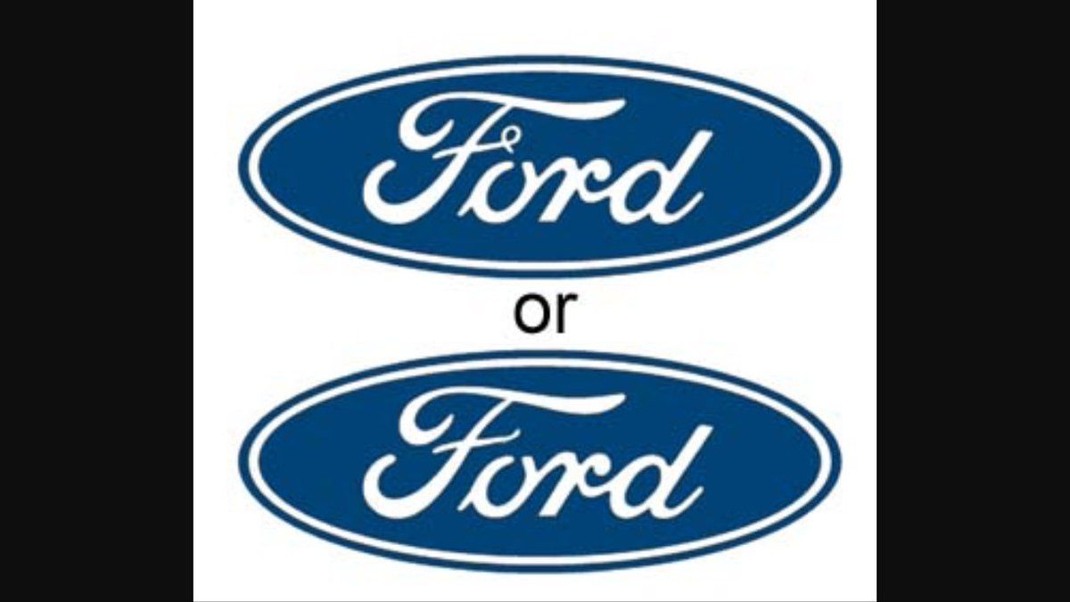 Ford Logo - The Mandela Effect on Twitter:
