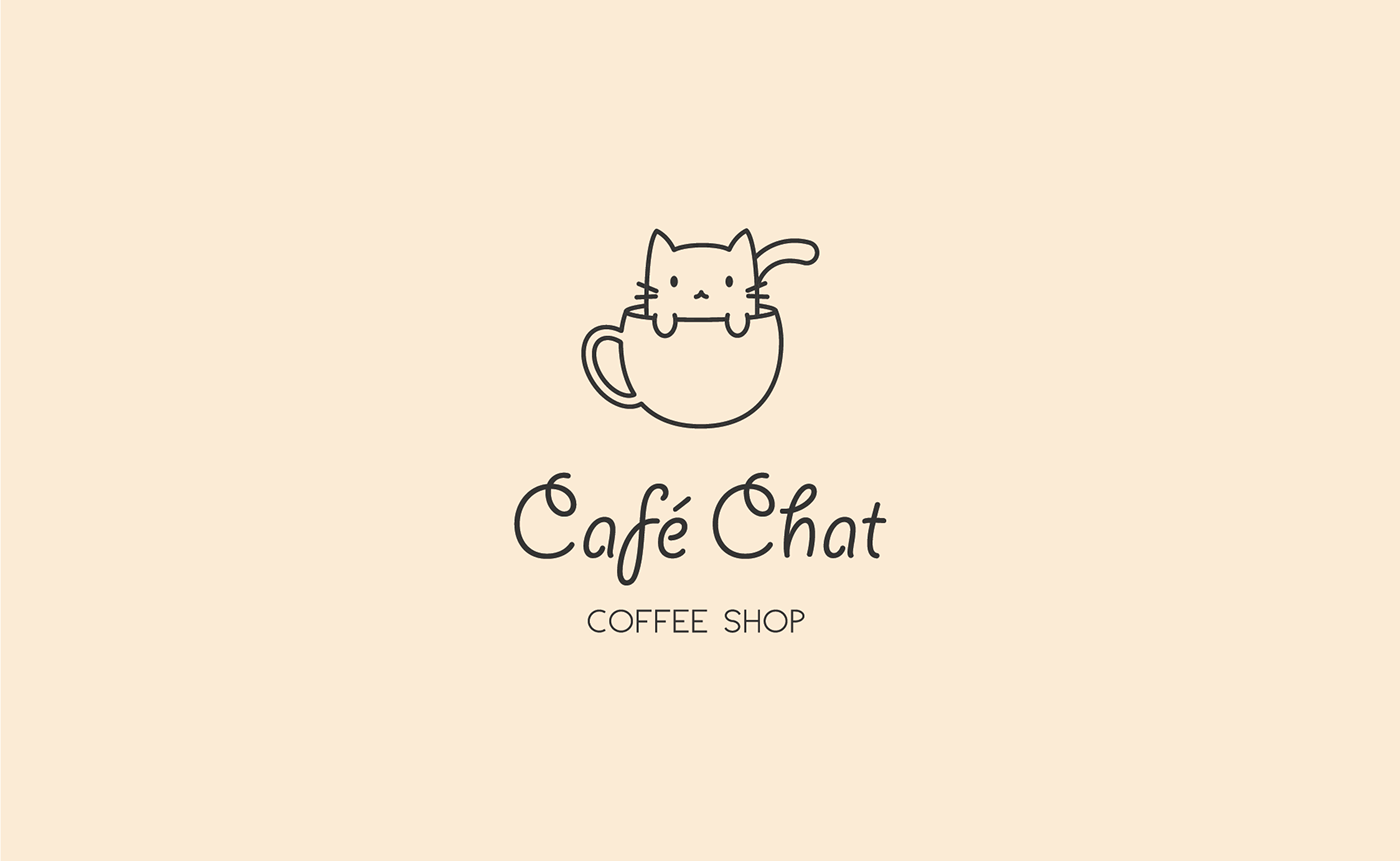 Cute Cafe Logo Logodix