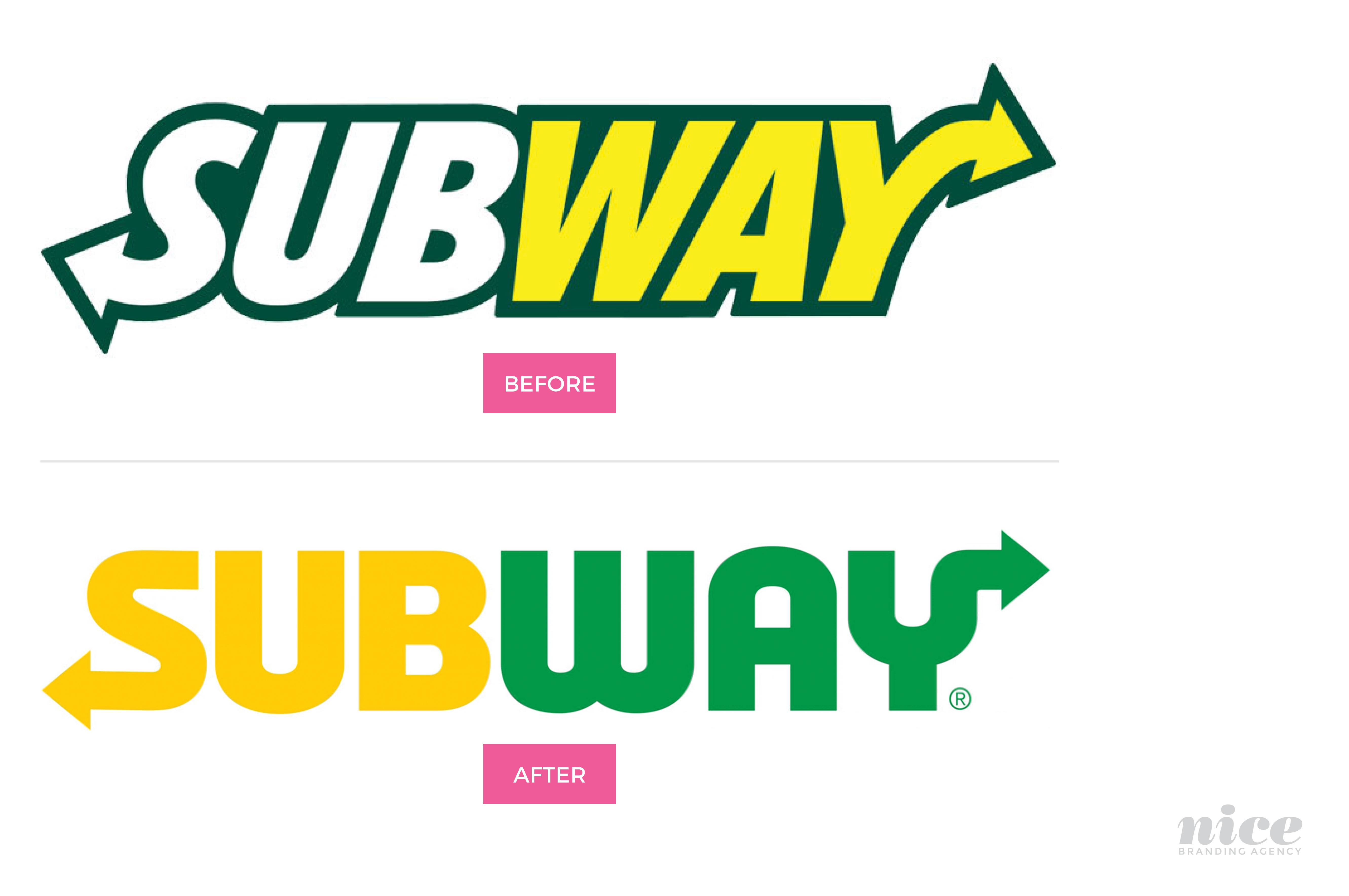 Subway Logo - Rolling Out the Subway Logo Refresh - Nice Branding Agency