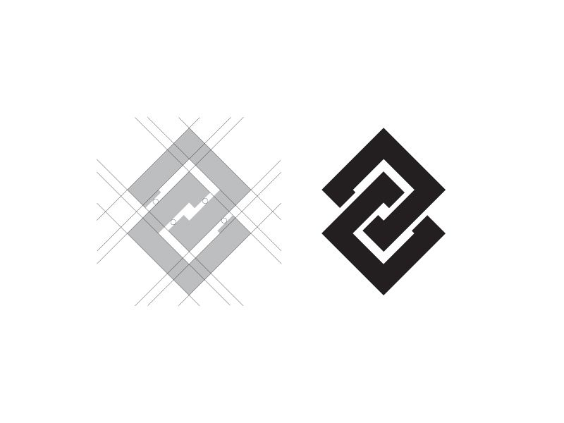 Blockchain Logo - Blockchain Logo Process by Billy | Dribbble | Dribbble
