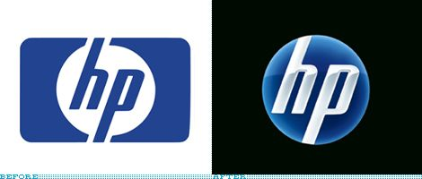HP Logo - Brand New: HP Sheds the Rectangle