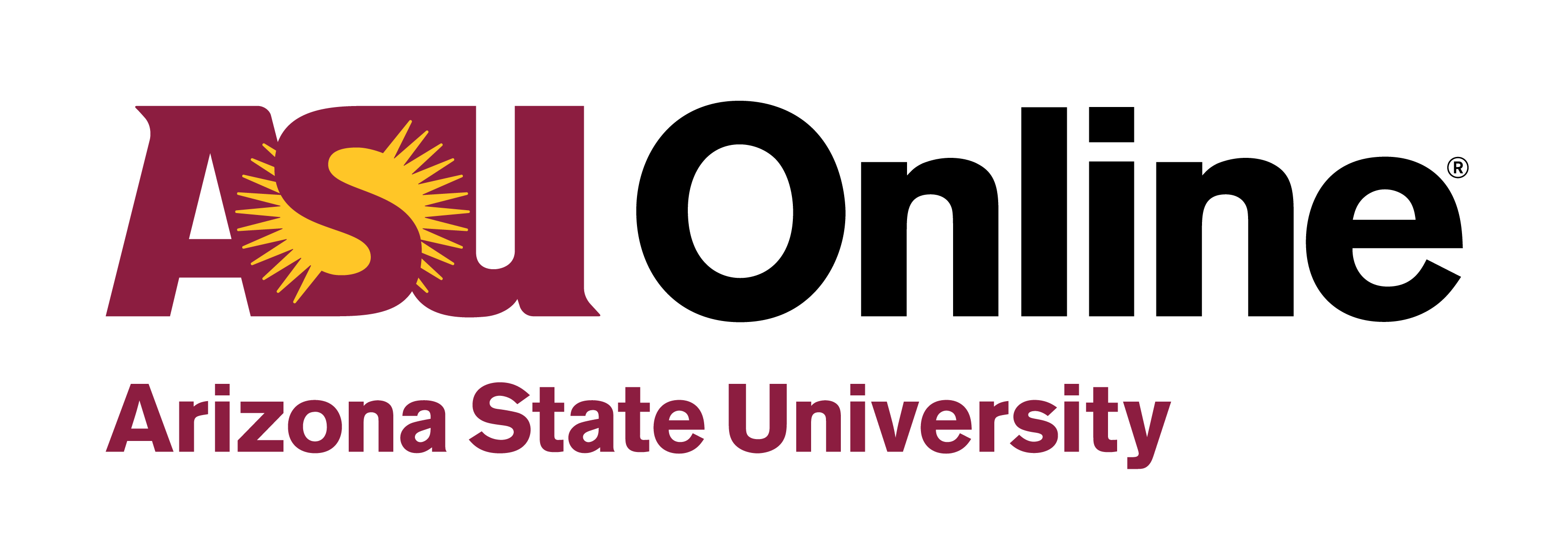 ASU Logo - ASU Online logo 2018 | EdPlus at Arizona State University
