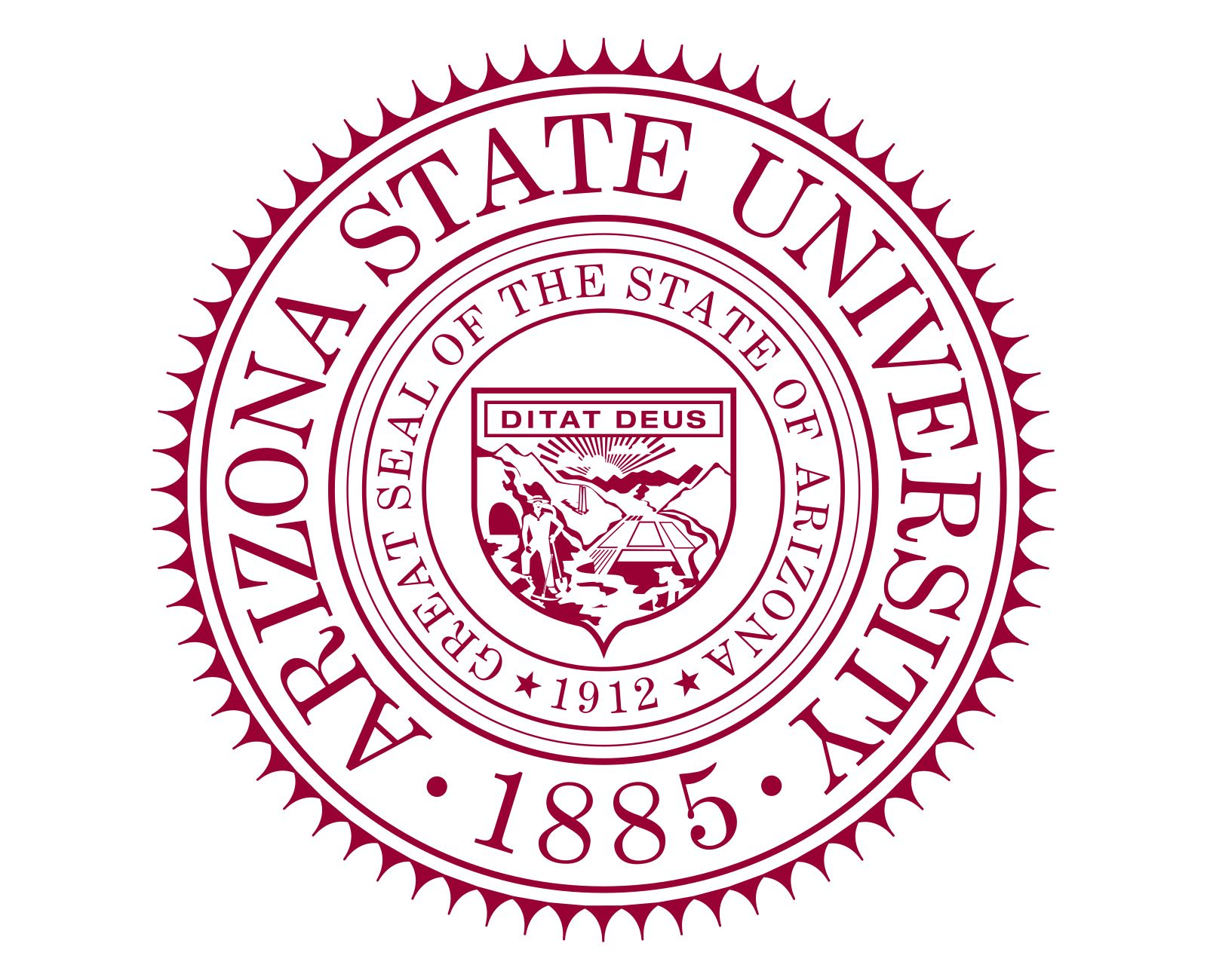 ASU Logo - ASU Logo, Arizona State University symbol, meaning
