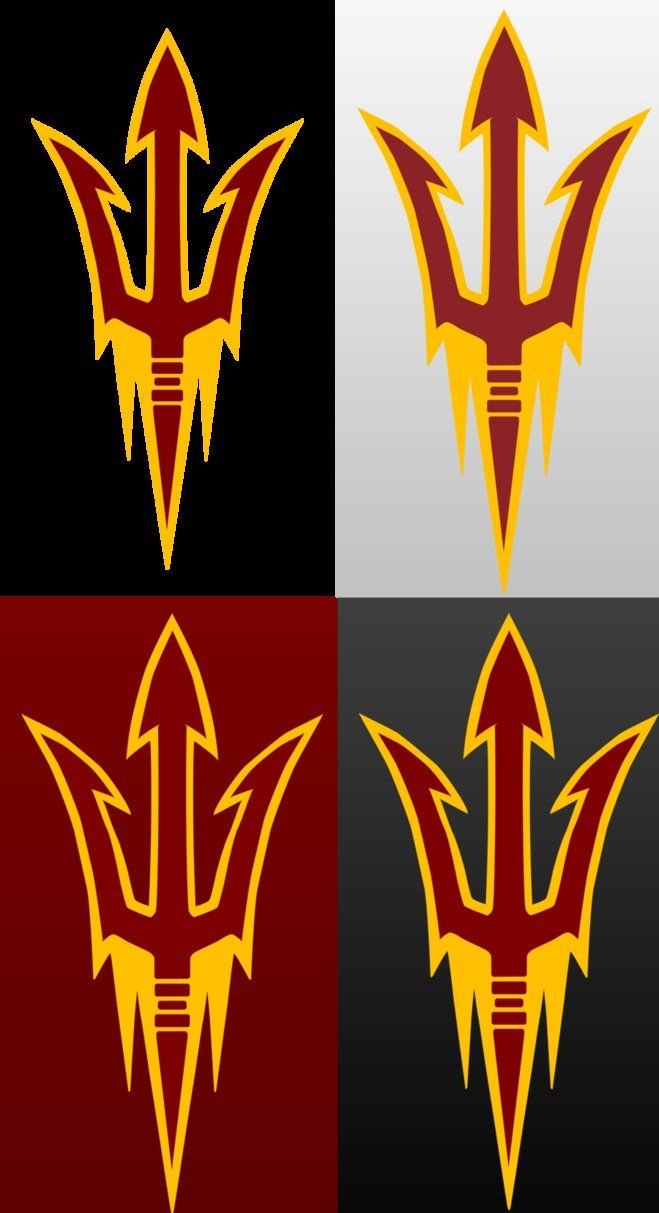 ASU Logo - new asu logo by DaNoTomorrow on DeviantArt