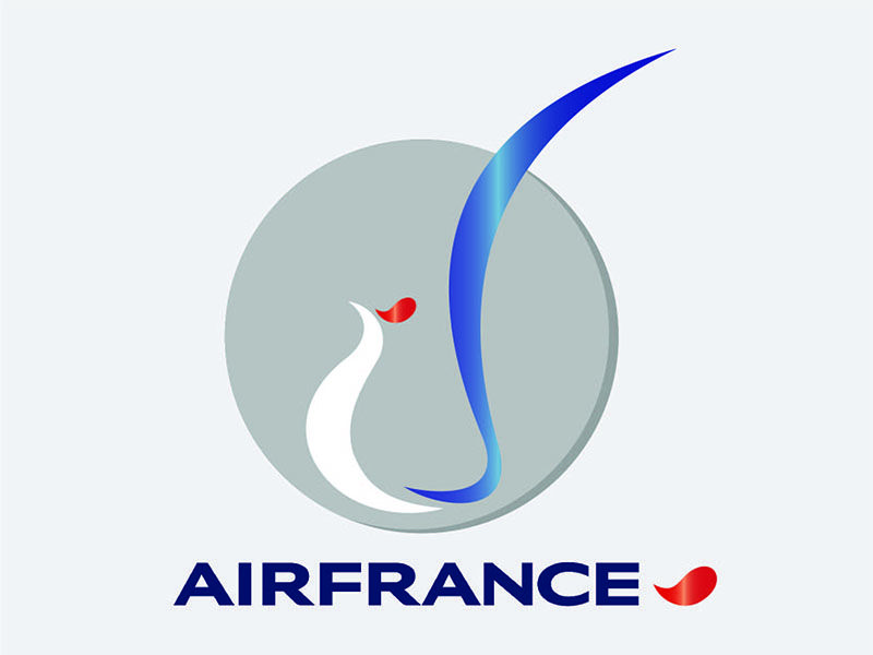 Air France Logo - Air France logo by Amitabh Verma | Dribbble | Dribbble
