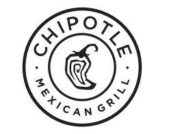 Chipotle Logo - Chipotle / logo / Mexican food / restaurant / black and white ...