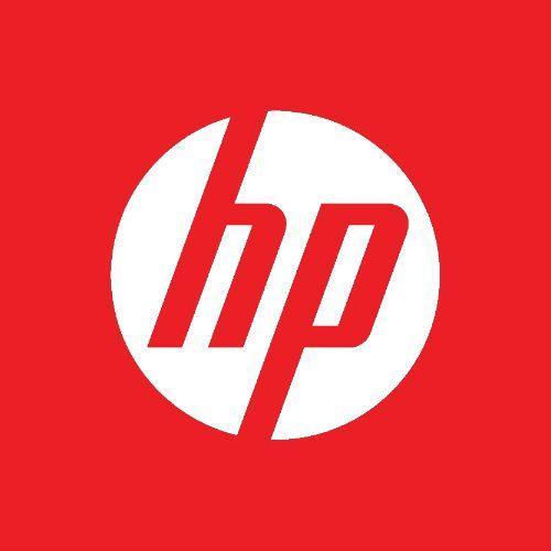 Red HP Logo - LogoDix