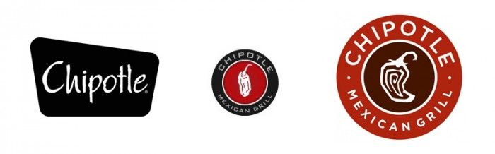 Chipotle Logo - 7 excellent restaurant brand evolutions - Grits + Grids