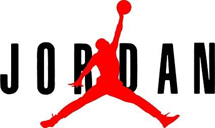 Jordan Logo - Amazon.com: AIR Jordan Flight 23 Jumpman Logo NBA Huge Vinyl Decal ...