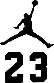 Jordan Logo - Amazon.com: NBA Jordan 23 Jumpman Logo AIR Huge Vinyl Decal Sticker ...