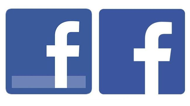 Very Small Facebook Logo - The Facebook logo takes on a simpler, cleaner look | Digital Trends