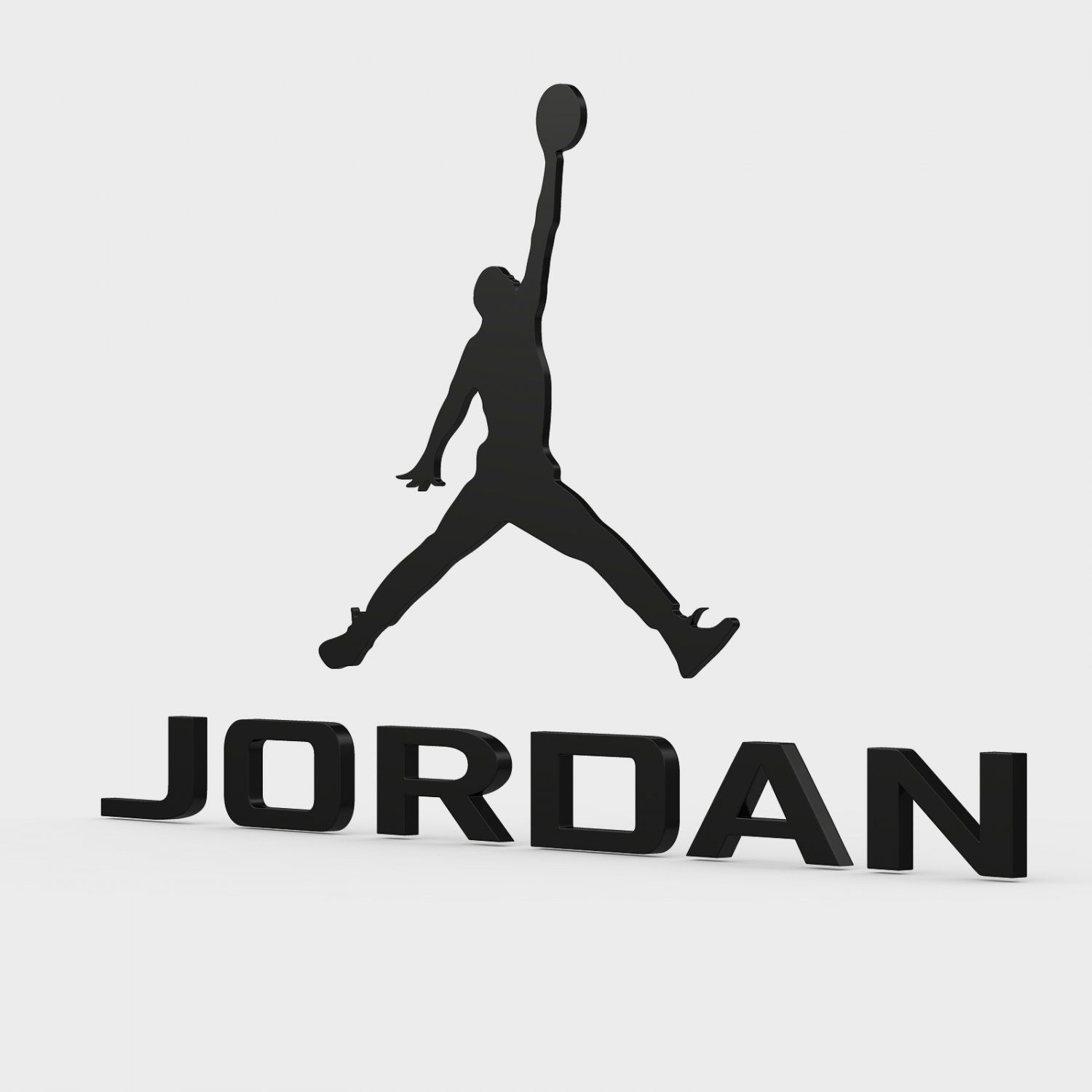 Jordan Logo - Jordan logo 3D Model in Other 3DExport