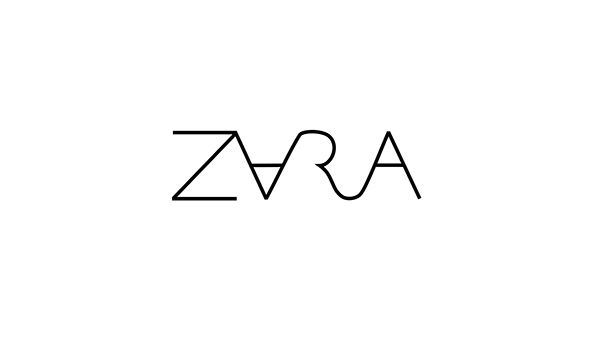 Zara Logo - ZARA logo redesign on Behance