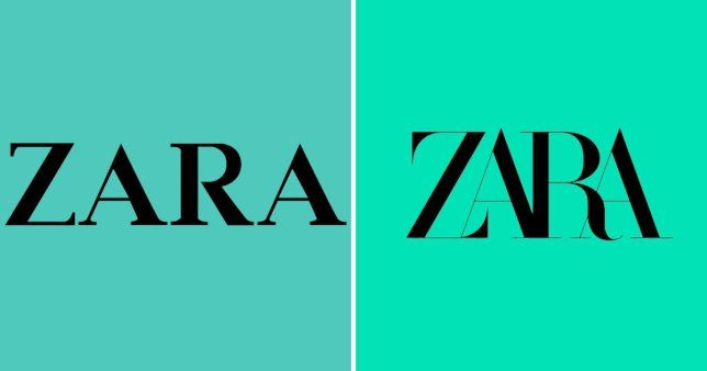 Zara Logo - Zara has a new logo and people are not keen | Metro News