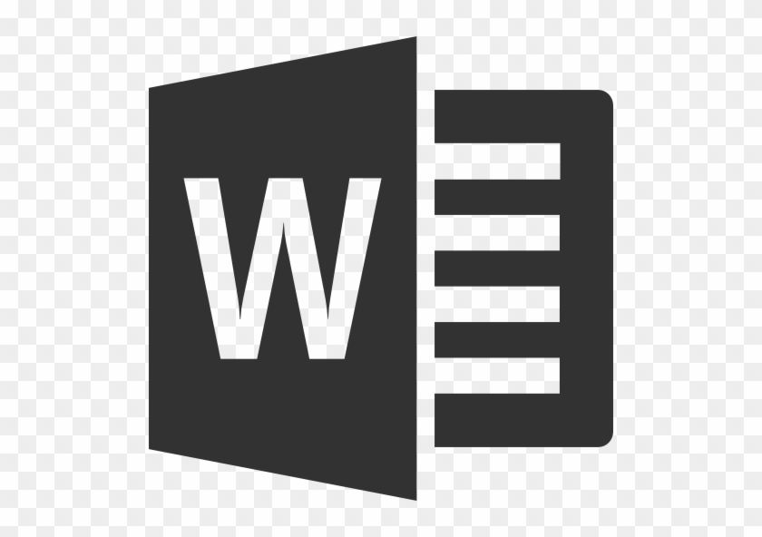 Microsoft Word Logo - Microsoft Office Suite Training - Microsoft Word Logo Black And ...