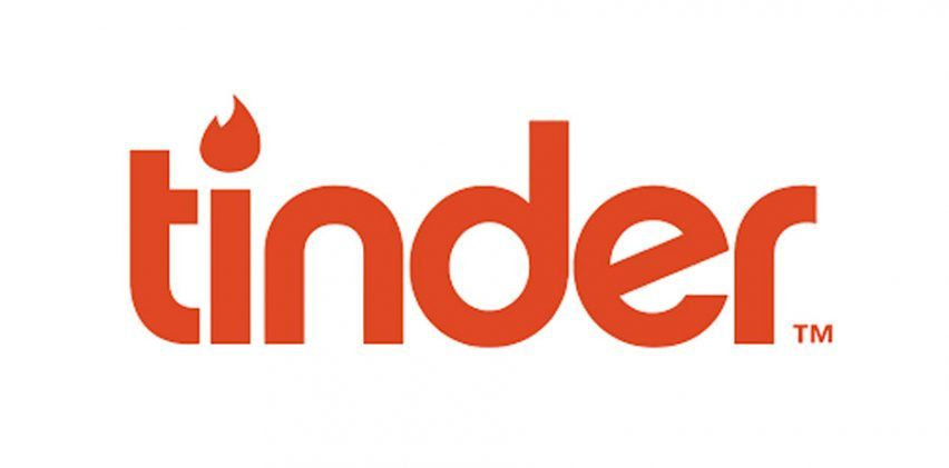 Orange Logo - Tinder replaces wordmark with pink and orange flame logo