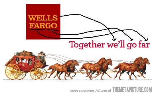 Wells Fargo Logo - So I just found out... - The Meta Picture