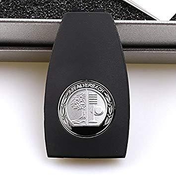 Hikig Brand Metal AMG Badge Key Back Cover for AMG GTS  /& Most Mercedes-Benz Car