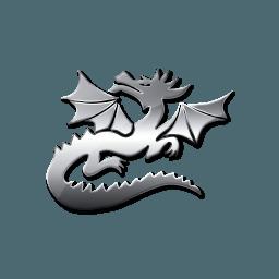 Silver Dragon Logo Logodix
