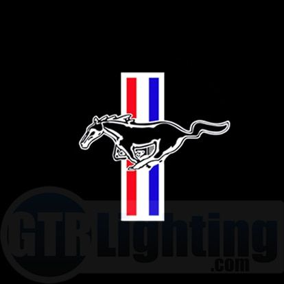 Mustang Logo - GTR Lighting LED Logo Projectors, Ford Mustang Logo, #34