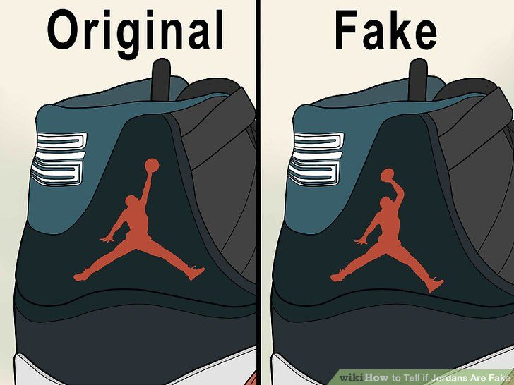 Fake Jumpman Logo LogoDix