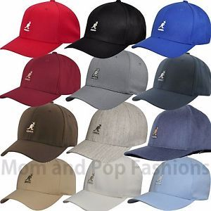 Kangol Logo - Kangol Logo 8650BC Wool Blend Flexfit Baseball Cap 8 Colors S M L XL ...