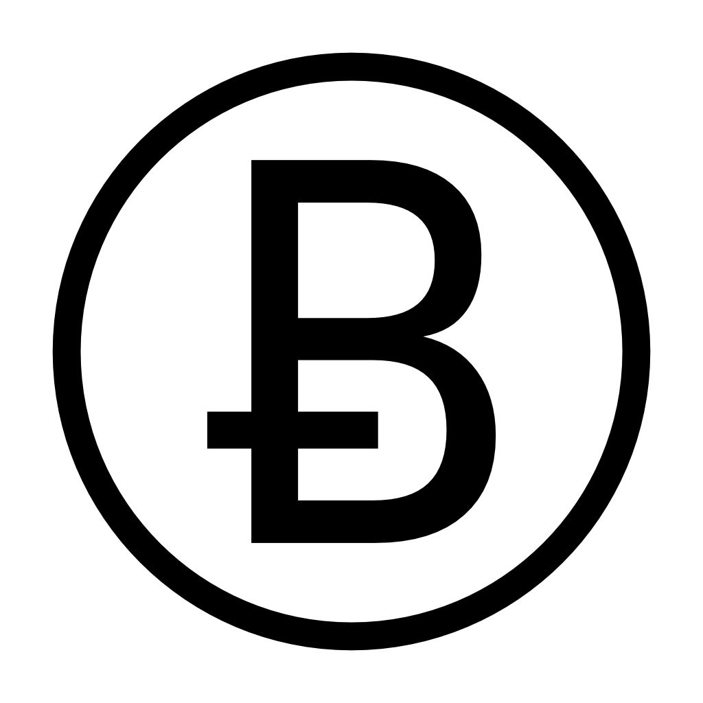 Bitcoin Logo - Ƀ is for Bitcoin