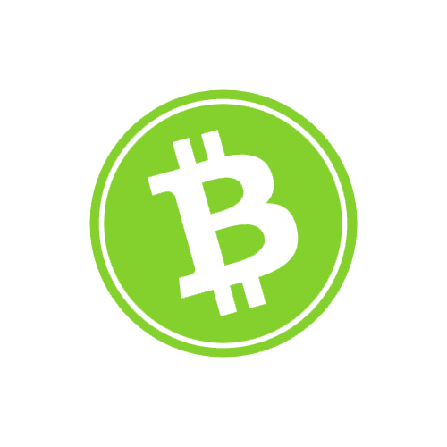 Bitcoin Logo - I just made this Bitcoin Cash logo with a white, inner ring, making ...