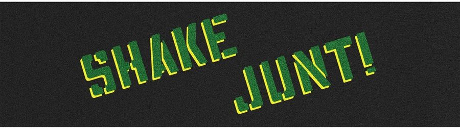 Shake Junt Logo - Skateboard Grip Tape, Shake Junt Sprayed 9