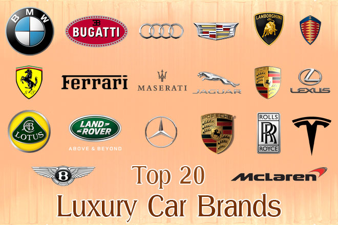 Exotic Car Brand Logo - Top 20 Luxury Car Brands | Fine High Living