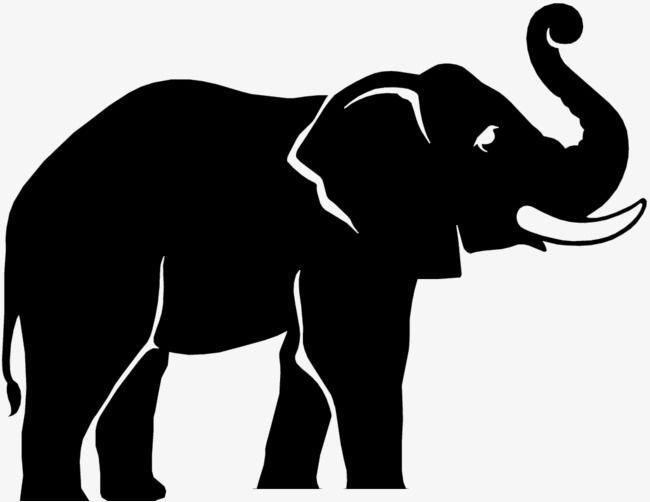 Black and White Elephant Logo - LogoDix