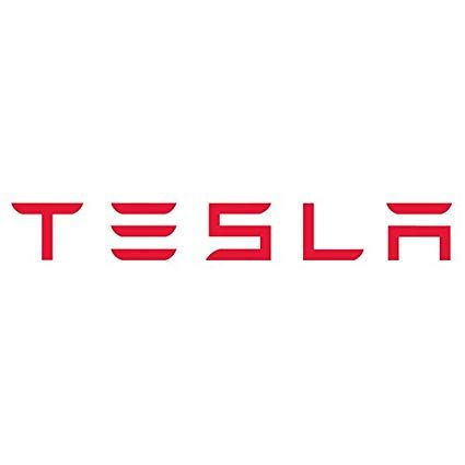 "Tesla Logo - Amazon.com: 12"" Tesla Motors Vinyl Lettering Logo Decal Sticker Die ..."