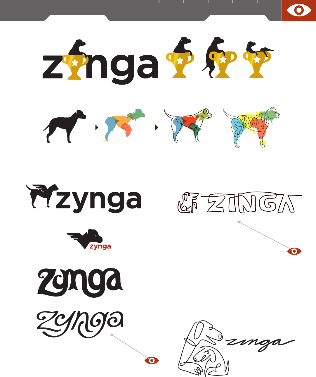 Zynga Logo - A Closer Look: RANDY HEIL - Design: Logo [Book]