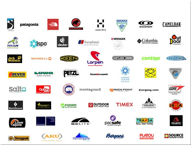 Outdoor Clothing Brands Logo Logodix