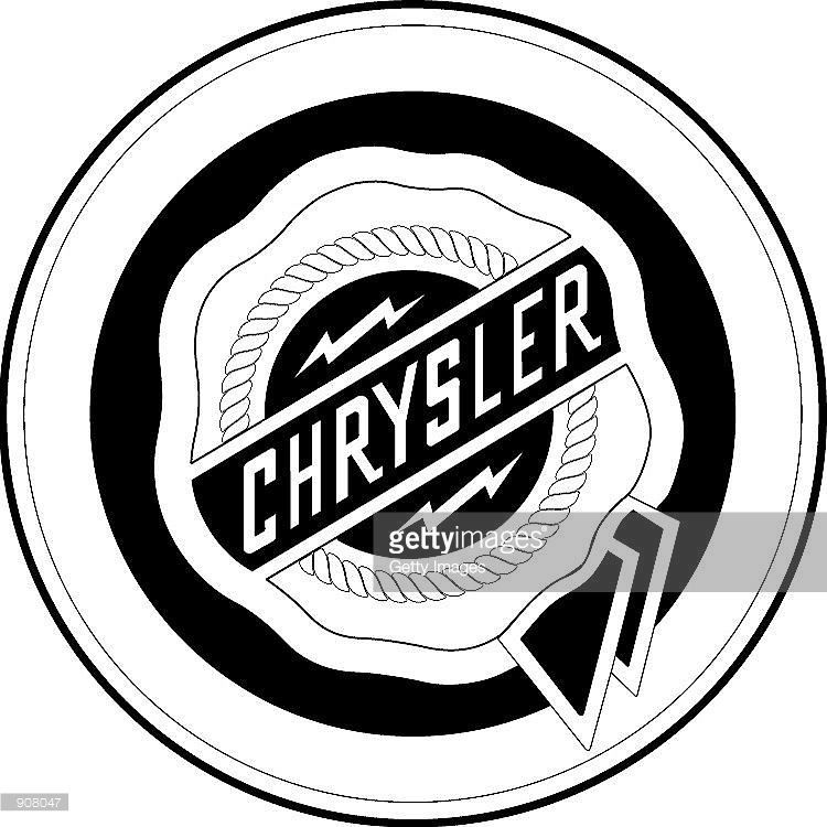 Chrysler Logo - The Chrysler logo is seen in this undated handout image.... | Dodge ...