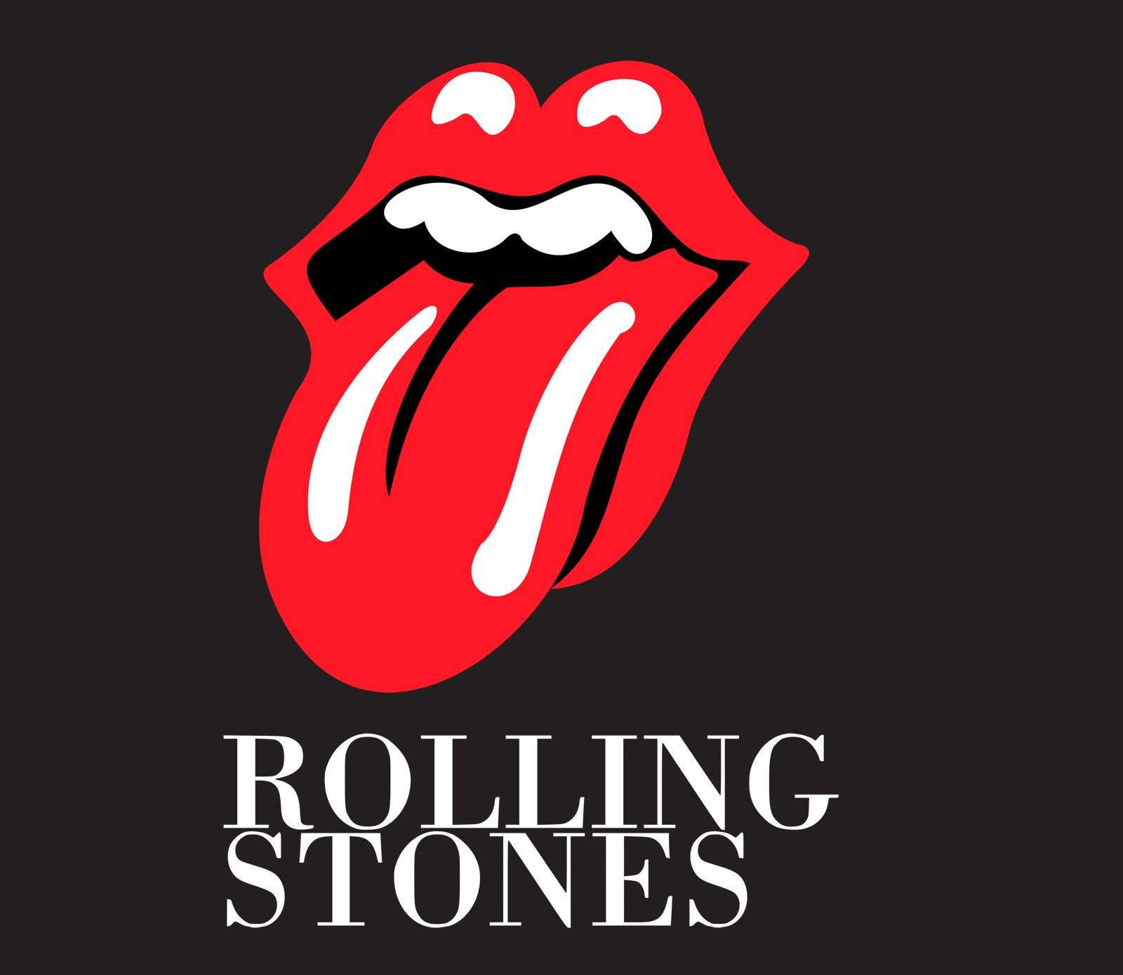 Rolling Stones Tongue Logo - rolling stones tongue logo | All logos world | Rolling Stones ...