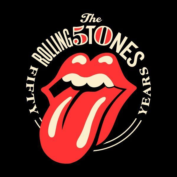 Rolling Stones Tongue Logo - Shepard Fairey updates classic Rolling Stones logo for the 50th ...