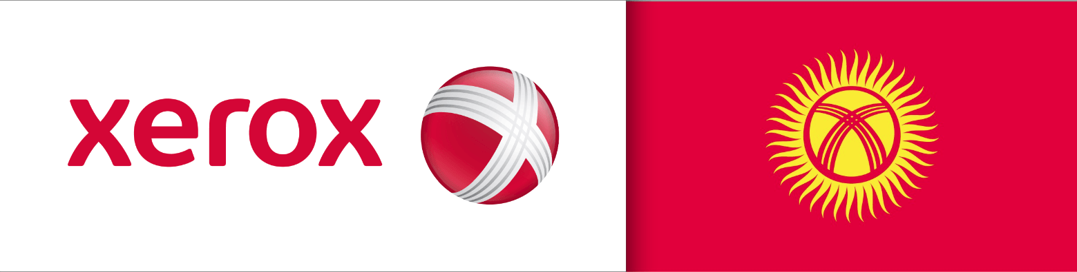 Xerox Logo - Anyone ever noticed that the flag of Kyrgyzstan is the Xerox logo on ...